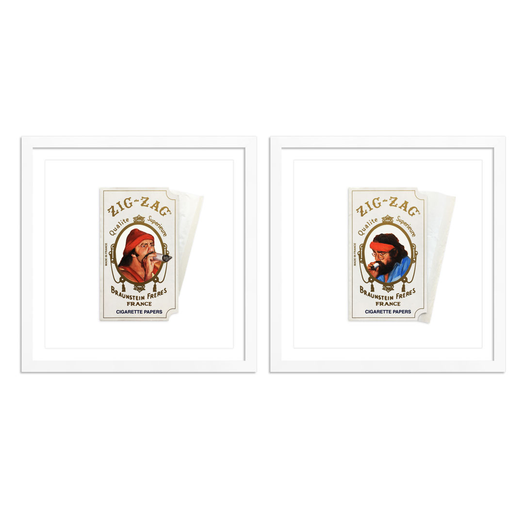 Joseph Martinez Art Print - Cheech & Chong - 2-Print Set