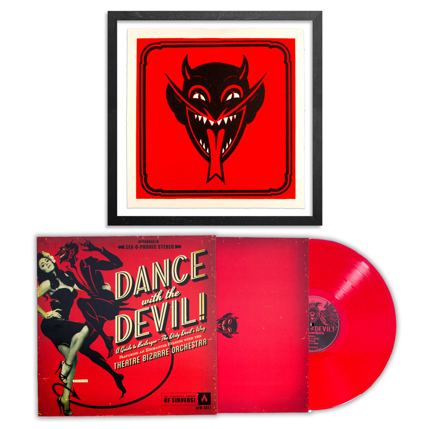 John Dunivant Art Print - The Devil Made Me Do It