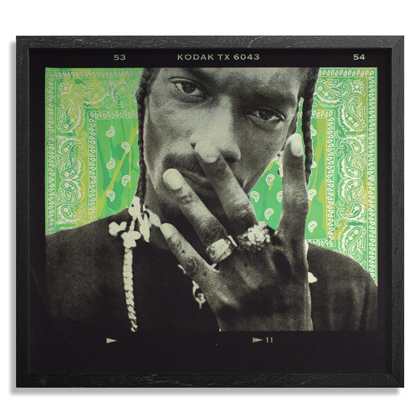Jonathan Mannion Art Print - 4 Shizzle - Green And Gold Edition
