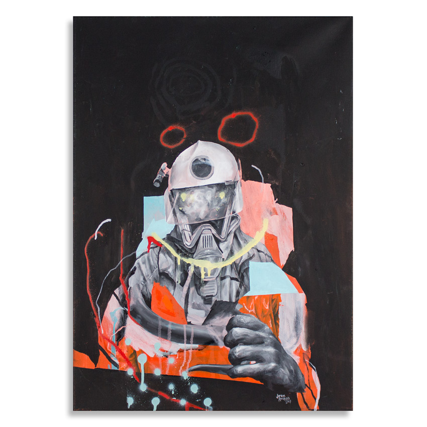 Joram Roukes Original Art - Code Orange