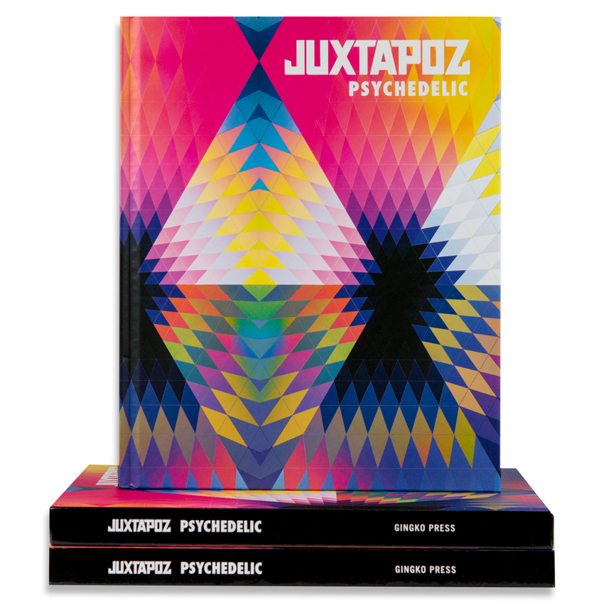 Various Artists Book - Juxtapoz - Psychedelic