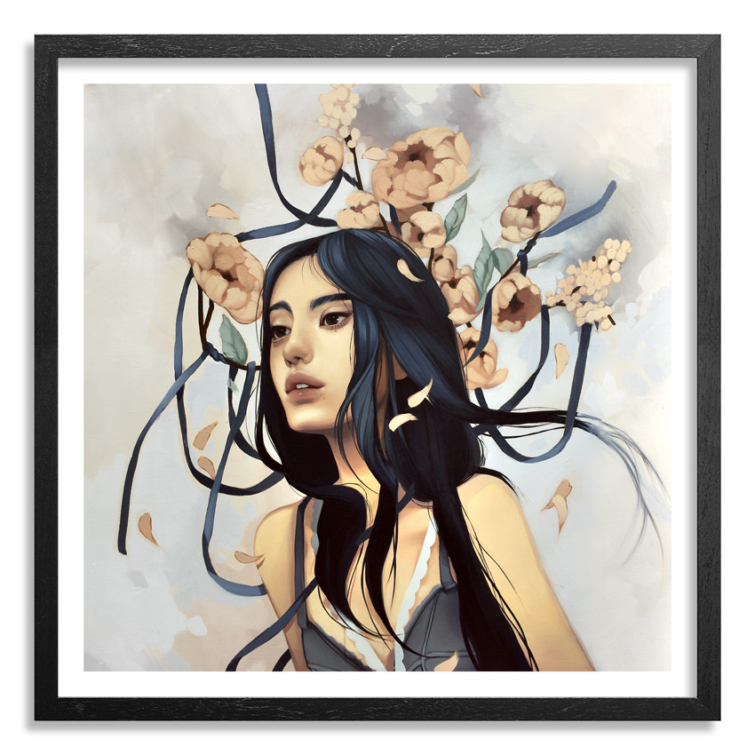Kelsey Beckett Art Print - The Last Hopeless Glance - Standard Edition
