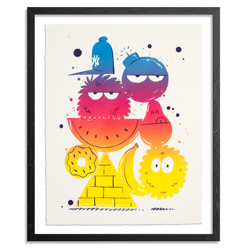 Kevin Lyons Art Print - Standard Edition - Fruit Roll Up