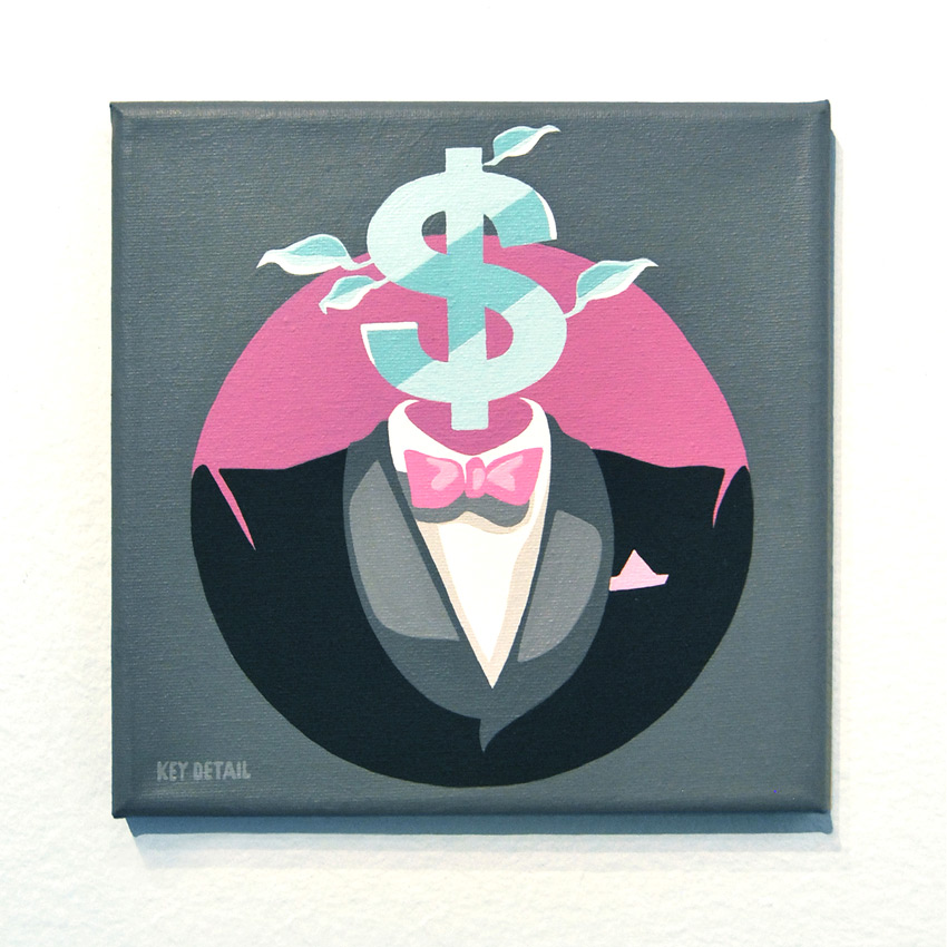 Key Detail Original Art - Mr. DollarBill - Original Artwork