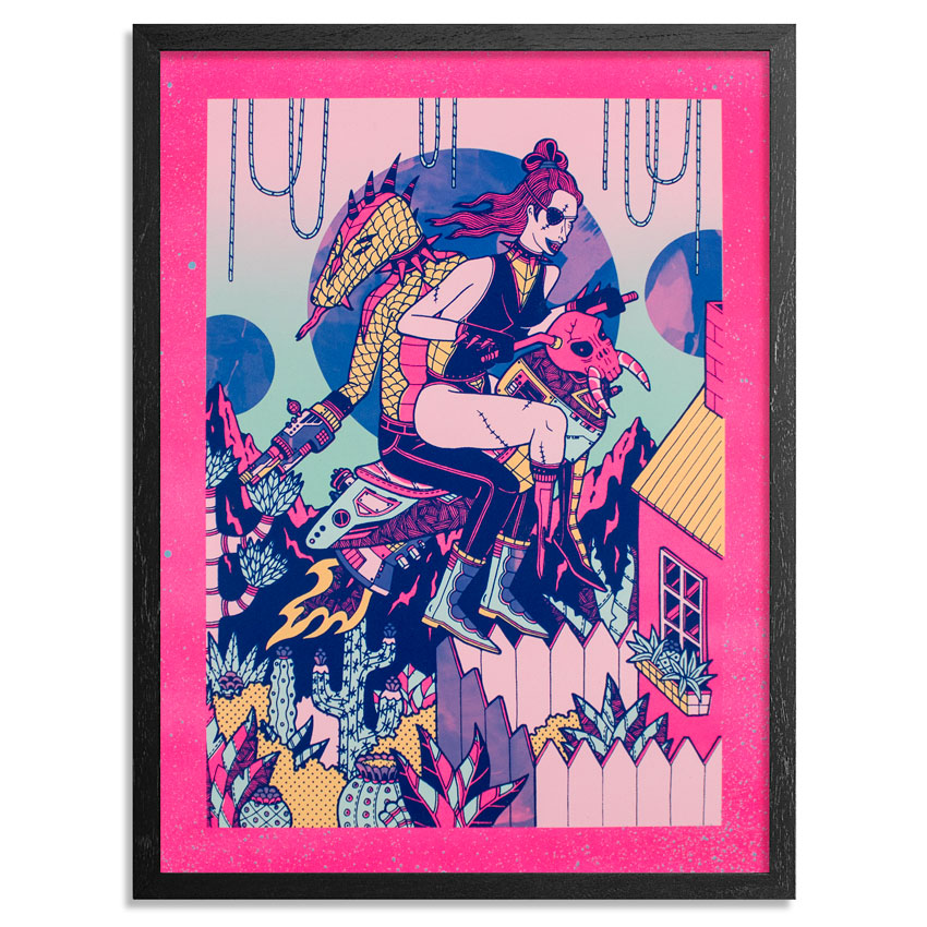 Kristen Liu-Wong Art Print - Ride And Die - Printer's Select II