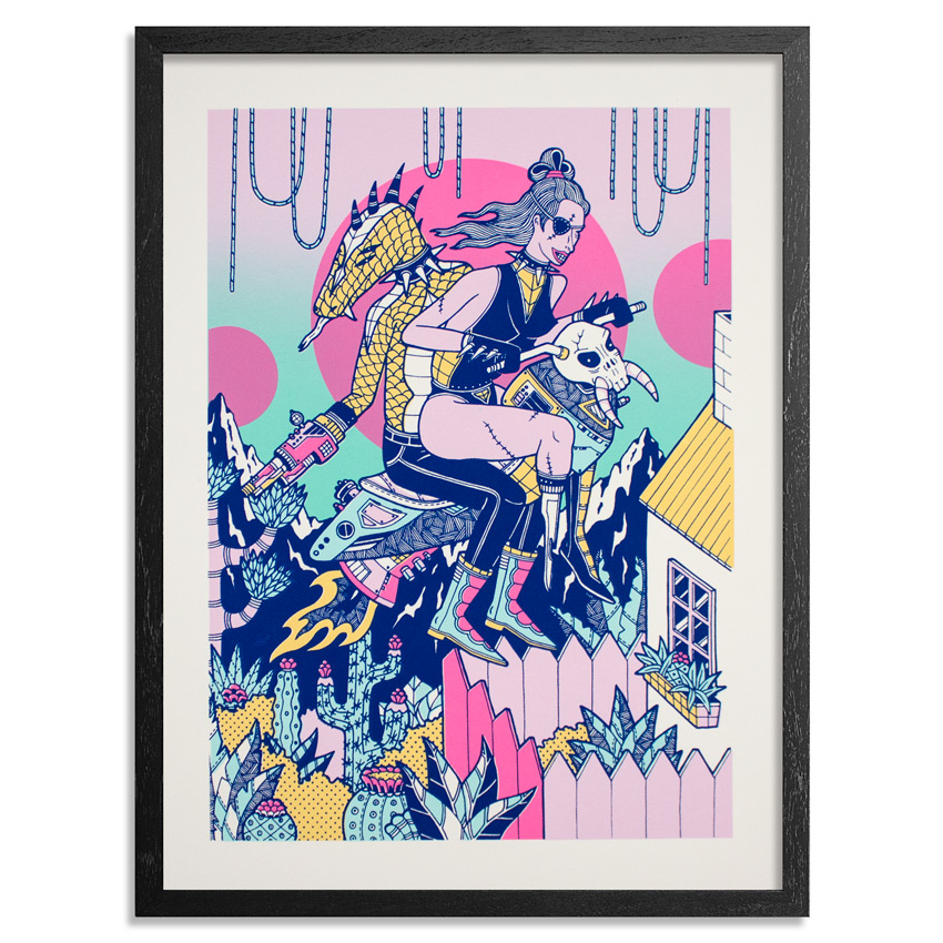Kristen Liu-Wong Art Print - Ride And Die - Standard Edition
