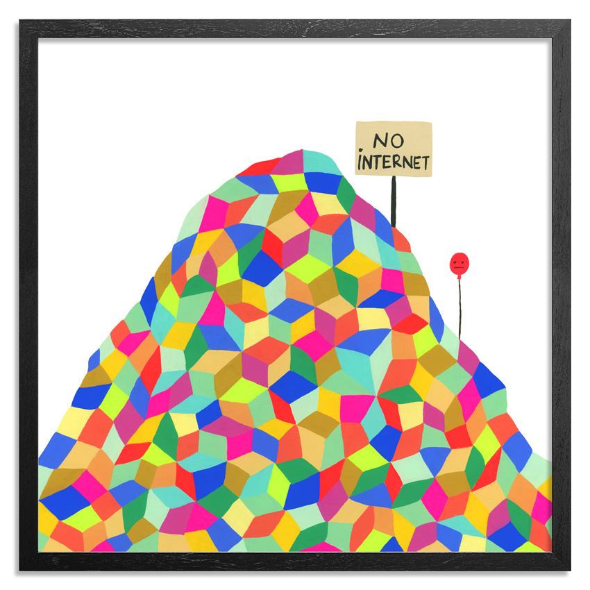 Kristin Farr Art Print - No Internet - Standard Edition