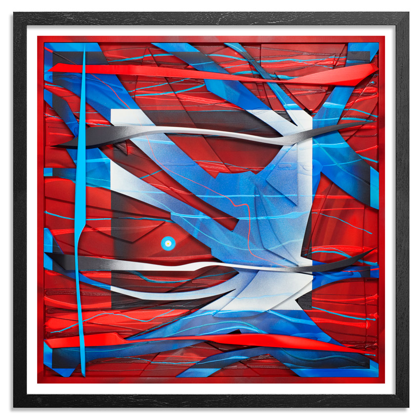 Kwest Art Print - Praxis Of Confusion - Red