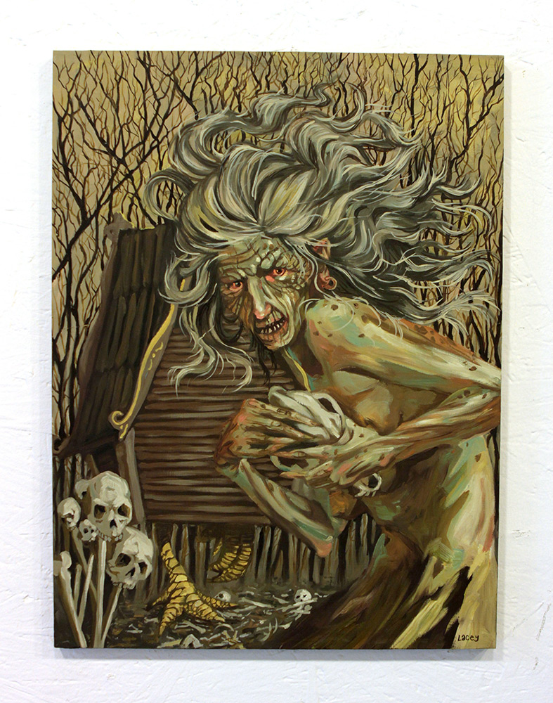 Lacey Bryant Original Art - The Baba Yaga