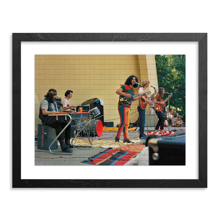 Leni Sinclair Art Print - The Grateful Dead, Ann Arbor, 1967 - Blotter Variant<br>