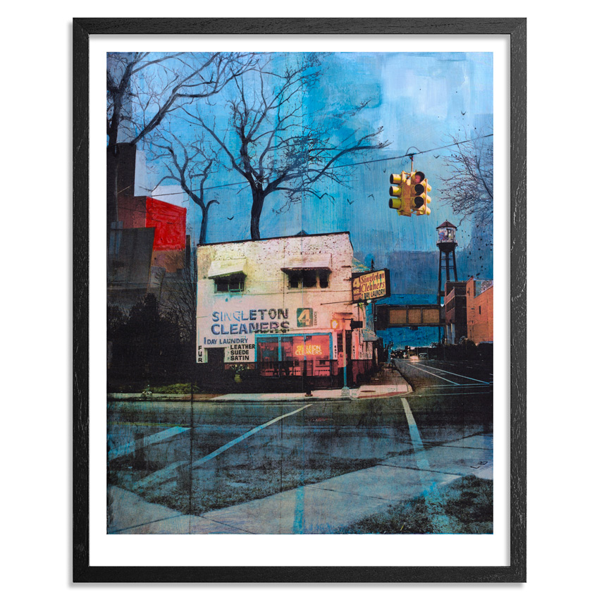 Liz Brizzi Art Print - Singleton Cleaners