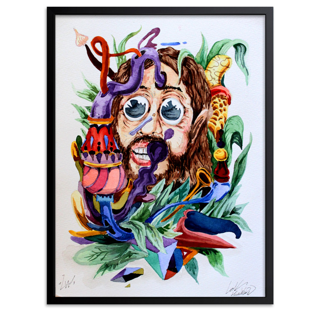 Look Original Art - Call of the Jungle 2