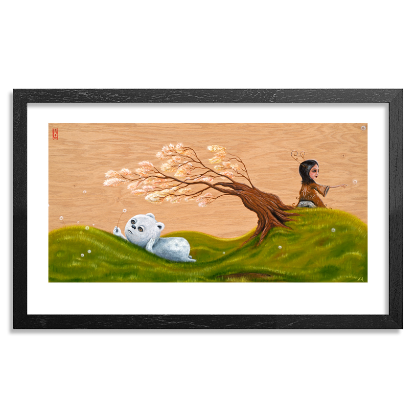Lucas Aoki Art Print - The Resting Spot