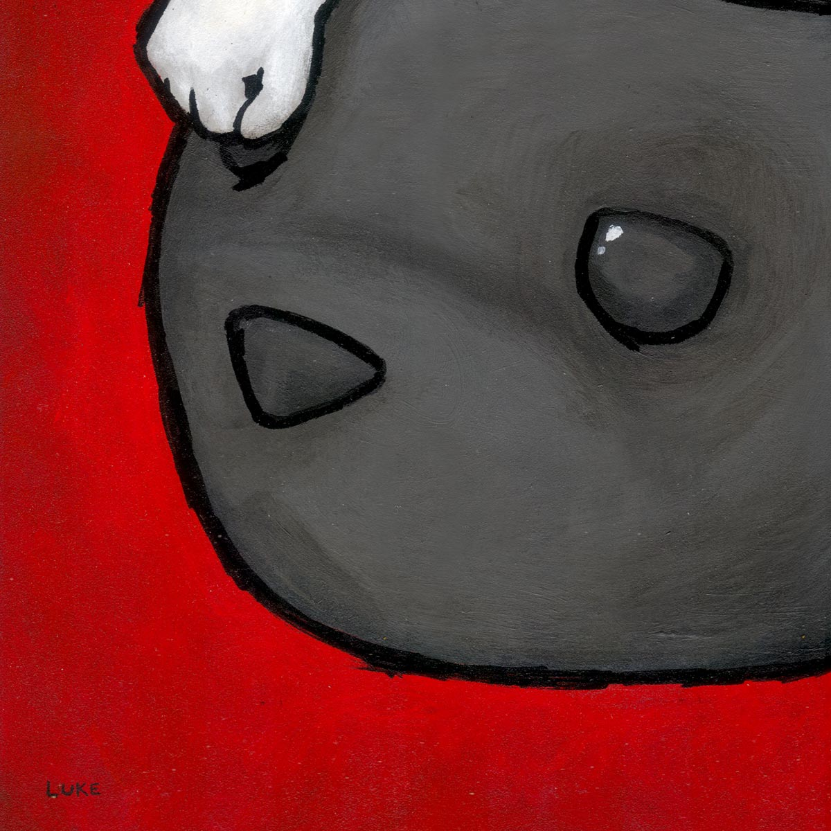 Luke Chueh Art Print - Head Like A Hole | 1xRUN