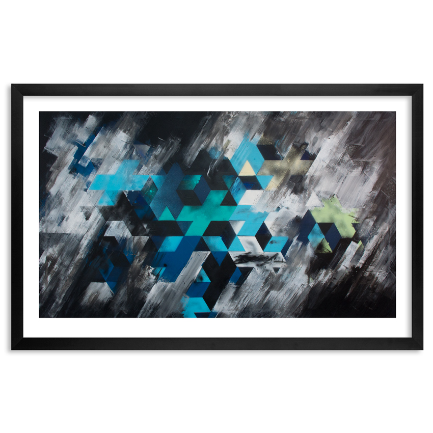 Lx One Art Print - Storm - Limited Edition Prints