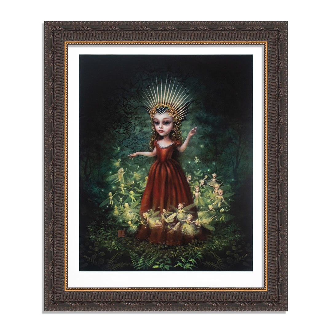 Mab Graves Art Print - Queen Mab - Hand-Painted Prints