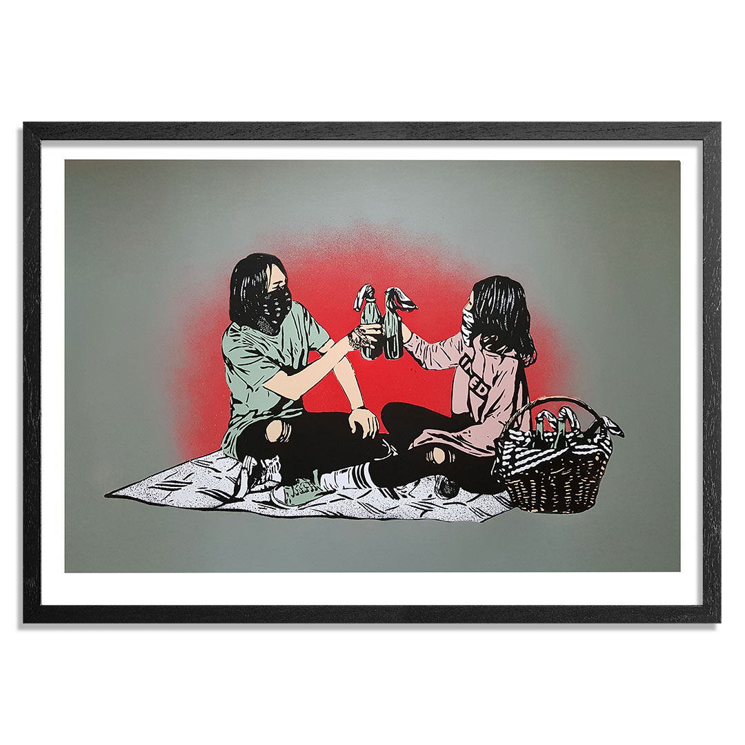 MAD Art Print - Picnic - Hand-Painted Multiple - 06