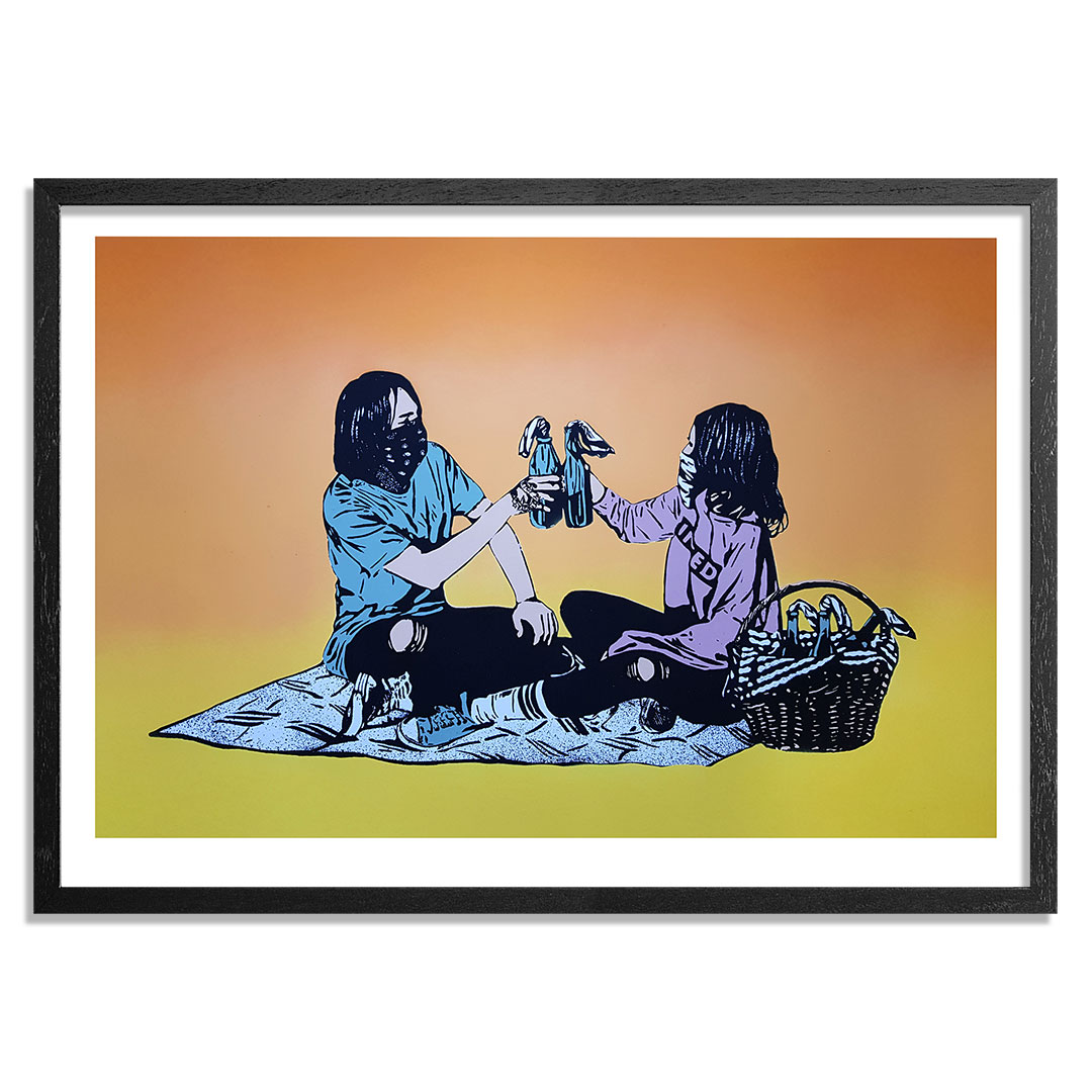 MAD Art Print - Picnic - Hand-Painted Multiple - 07