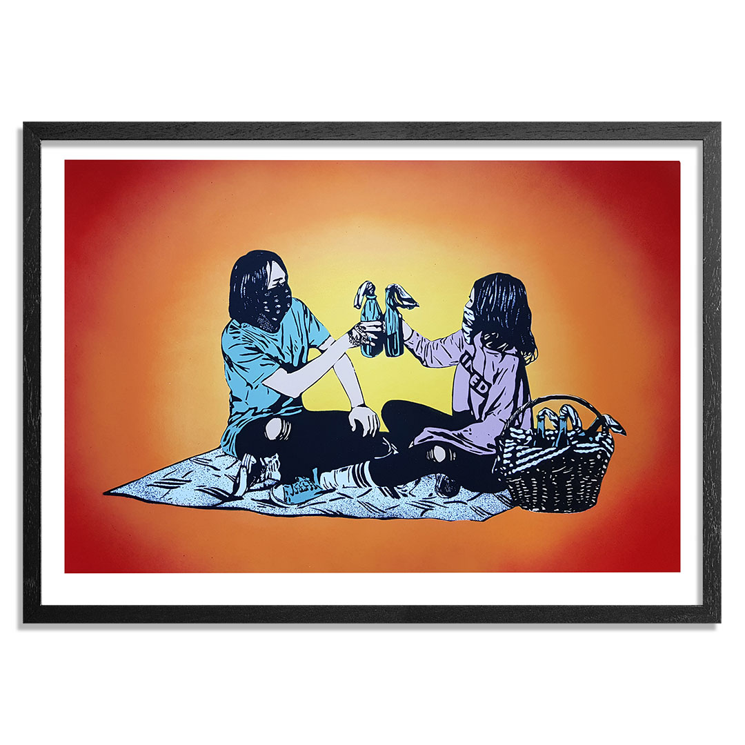 MAD Art Print - Picnic - Hand-Painted Multiple - 08