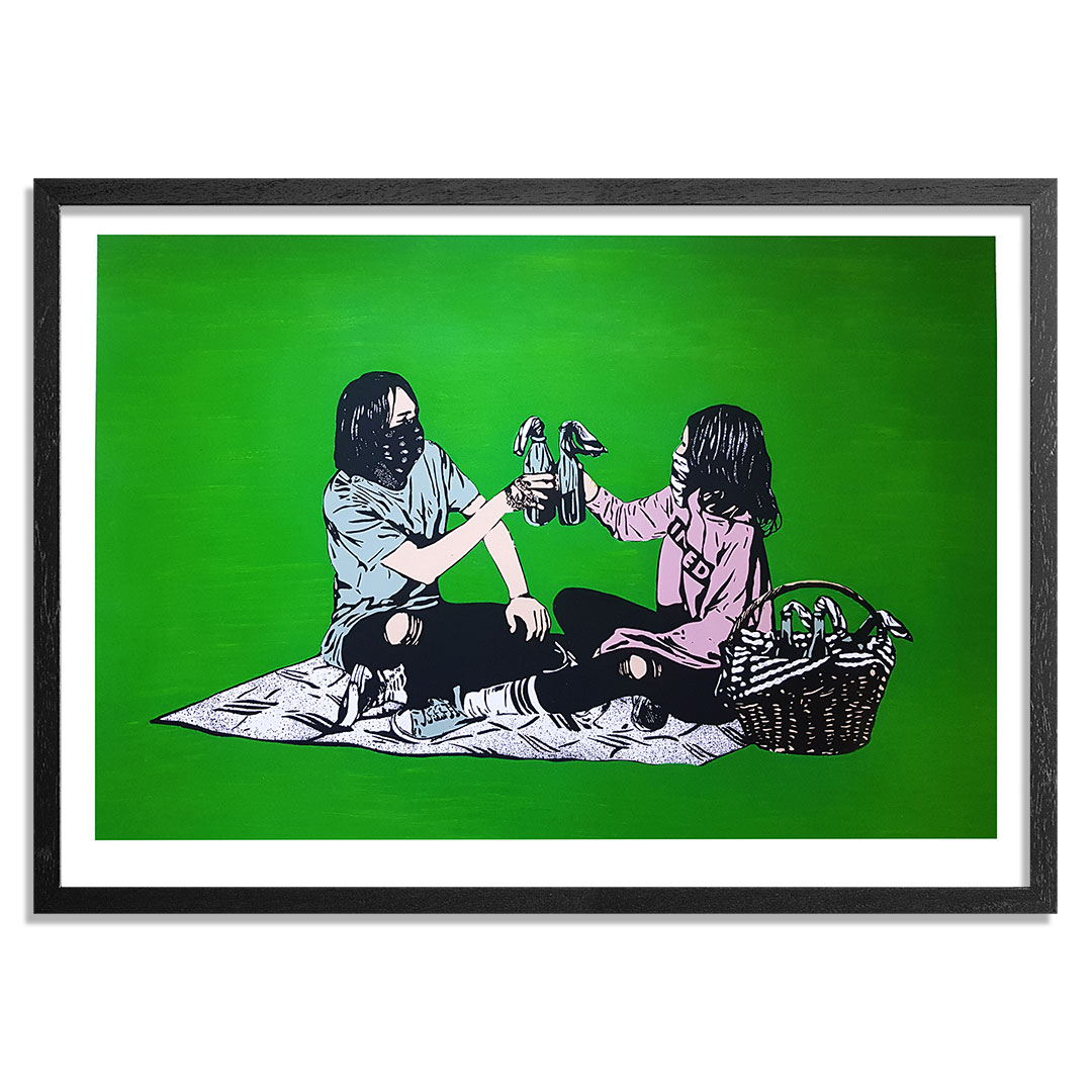 MAD Art Print - Picnic - Hand-Painted Multiple - 10