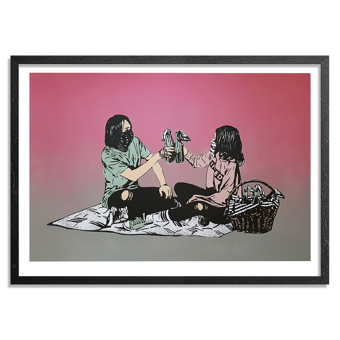 MAD Art Print - Picnic - Hand-Painted Multiple - 12