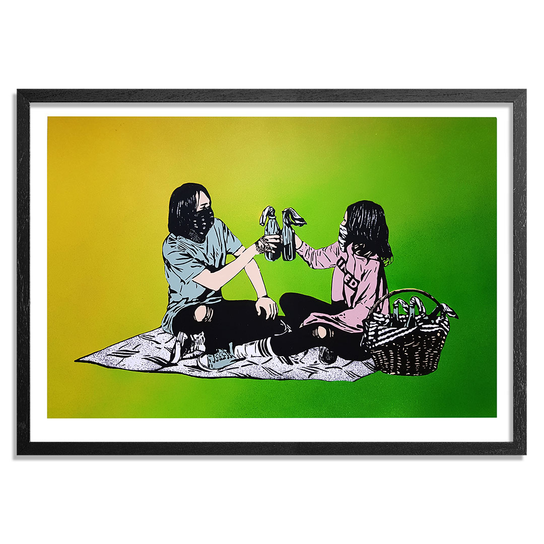 MAD Art Print - Picnic - Hand-Painted Multiple - 14