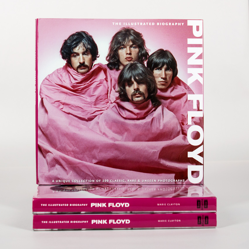 Marie Clayton Book - The Illustrated Biography Pink Floyd