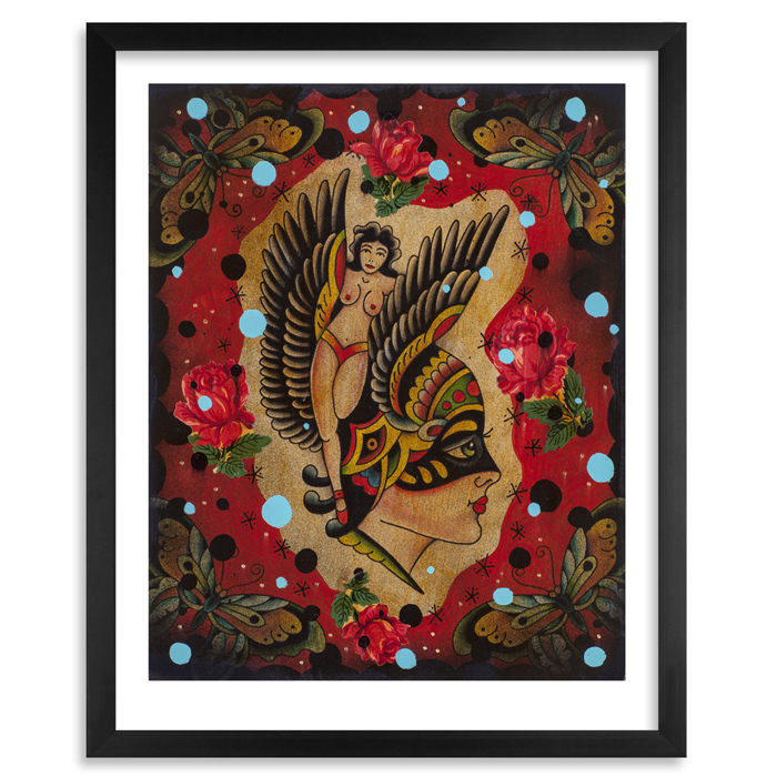 Mario Desa Art Print - Satellite of Love
