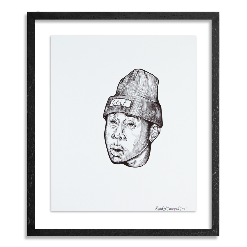Marlo Broughton Original Art - Tyler, The Creator