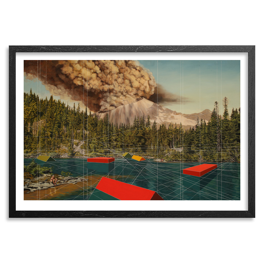 Mary Iverson Art Print - Mount Rainier - Standard Edition
