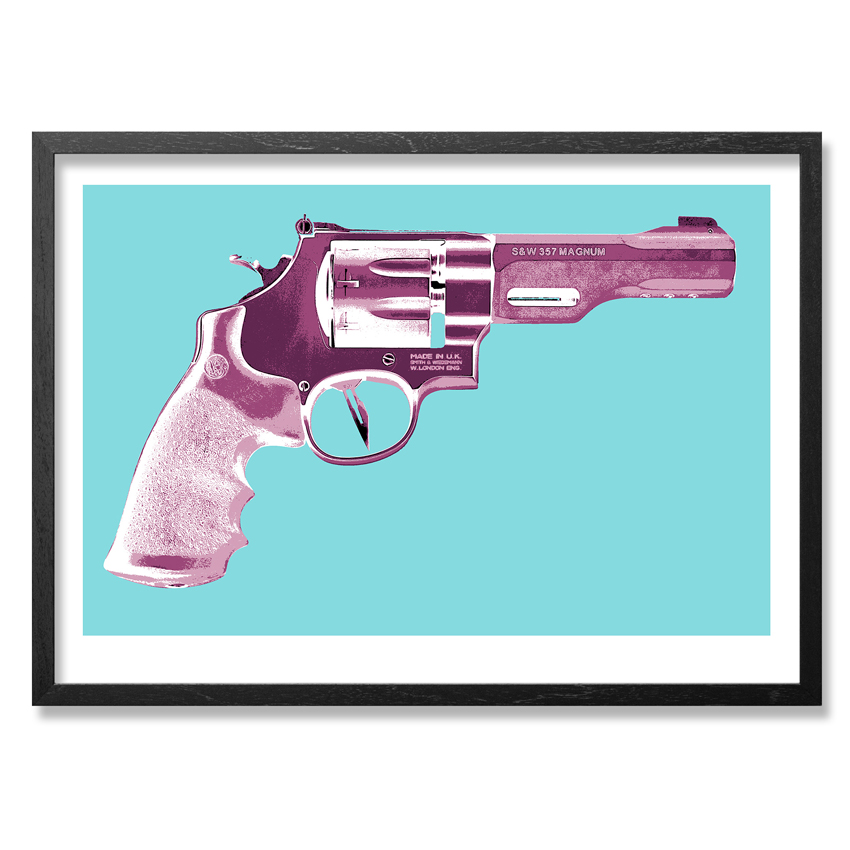 Maximilian Wiedemann Art - Razor Gun - Damaged SOLD AS IS