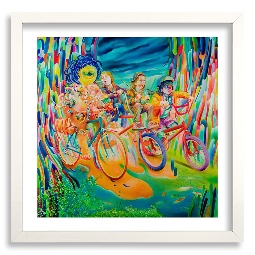 Michael Page Art Print - Fisherman's Ride - Standard Edition