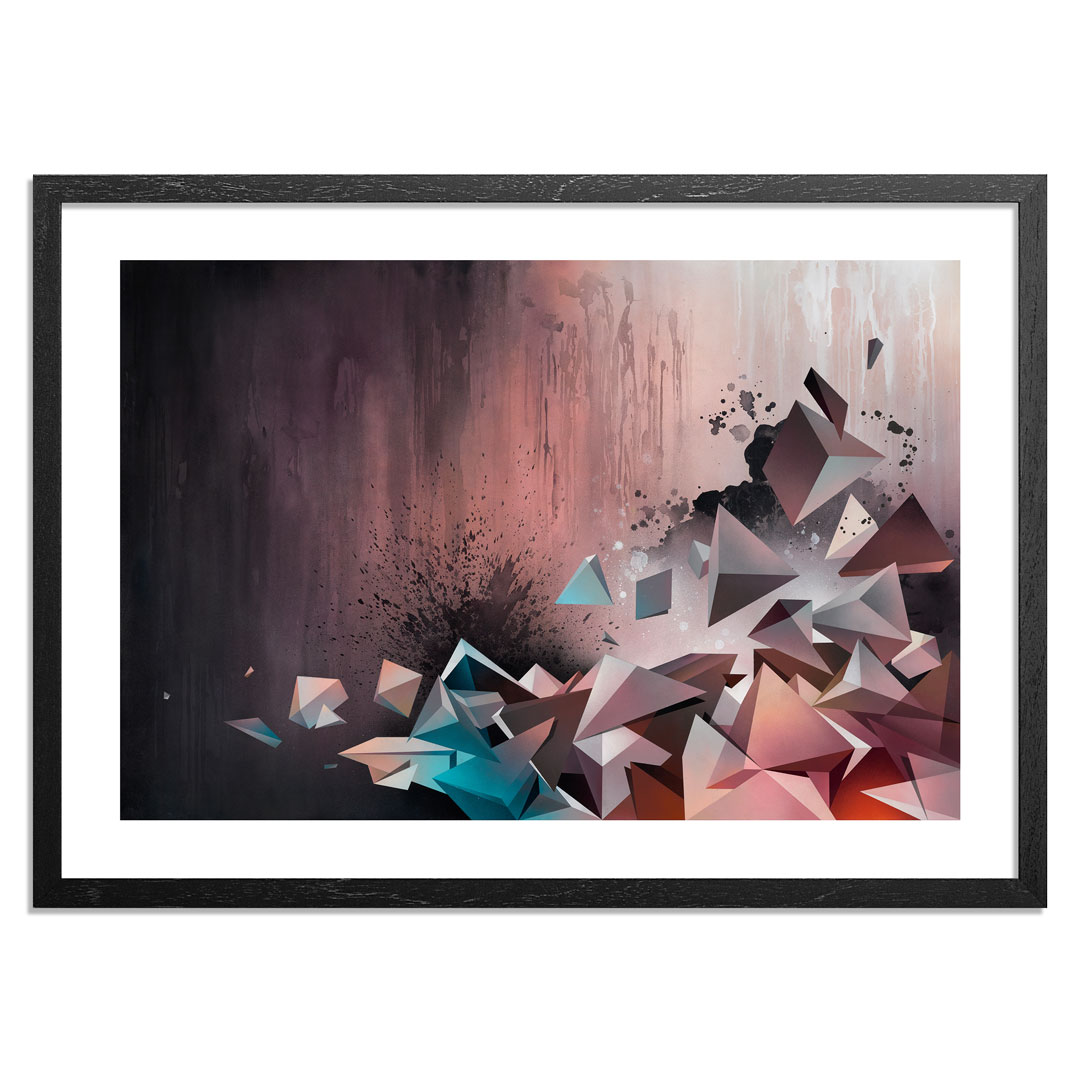 Mikael B. Art Print - Weightless