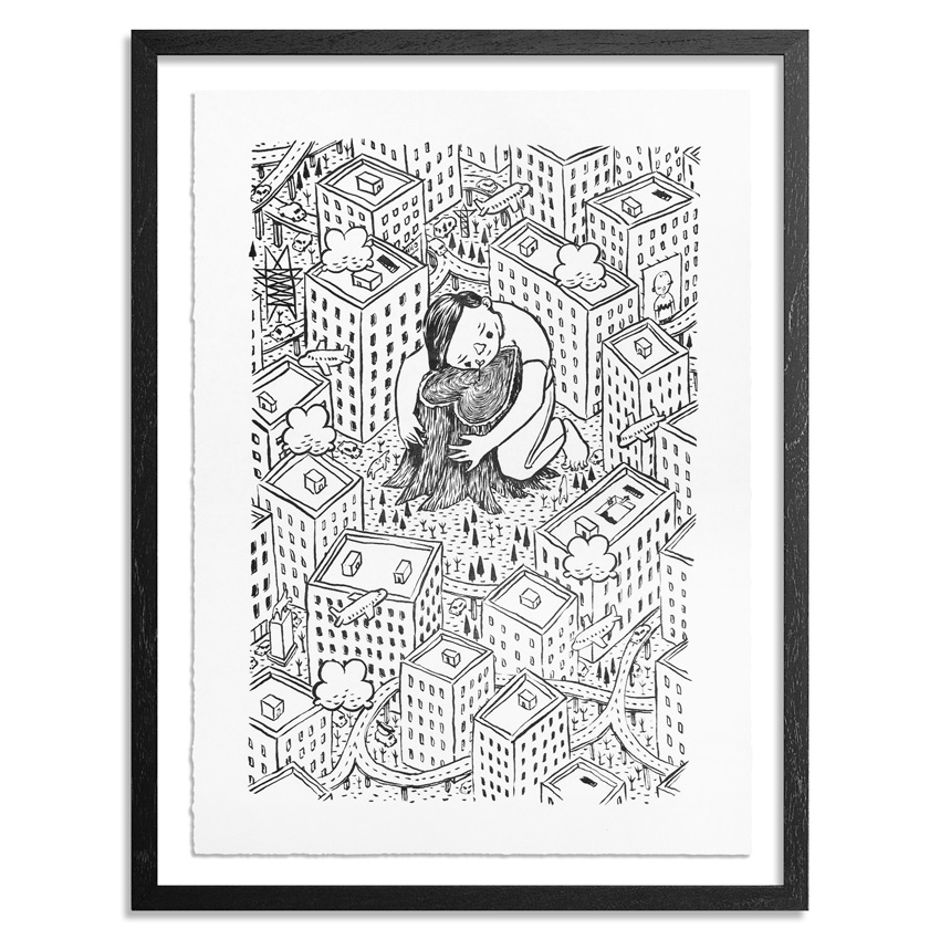 Millo Art - Hope Is A Waking Dream - Standard Edition - Framed