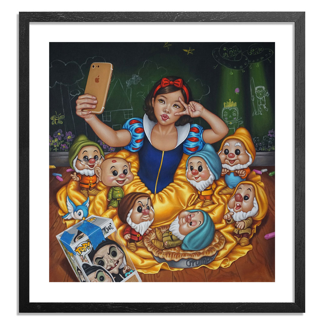 Mimi Yoon Art Print - 19 x 20 Inch Edition - Once Upon A Time No More 5