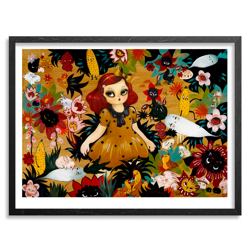 Misery Art Print - Momoka & The Vampire Night Garden - Limited Edition Prints