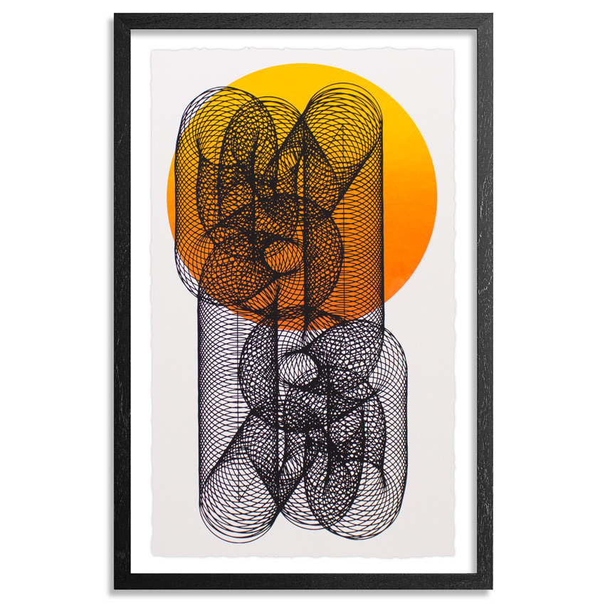 Moneyless Art Print - Alpha And Omega - White Edition