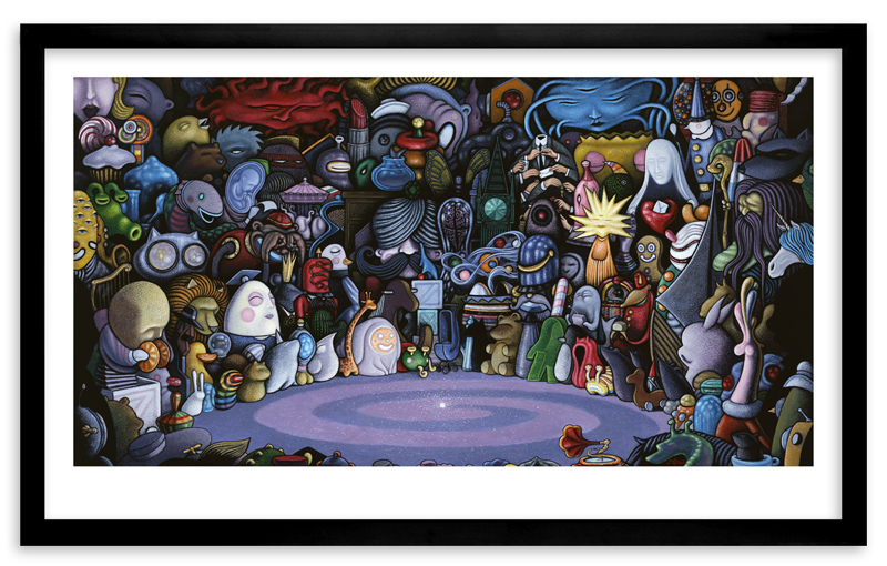 Nathan Spoor Art - The God Particle - Framed