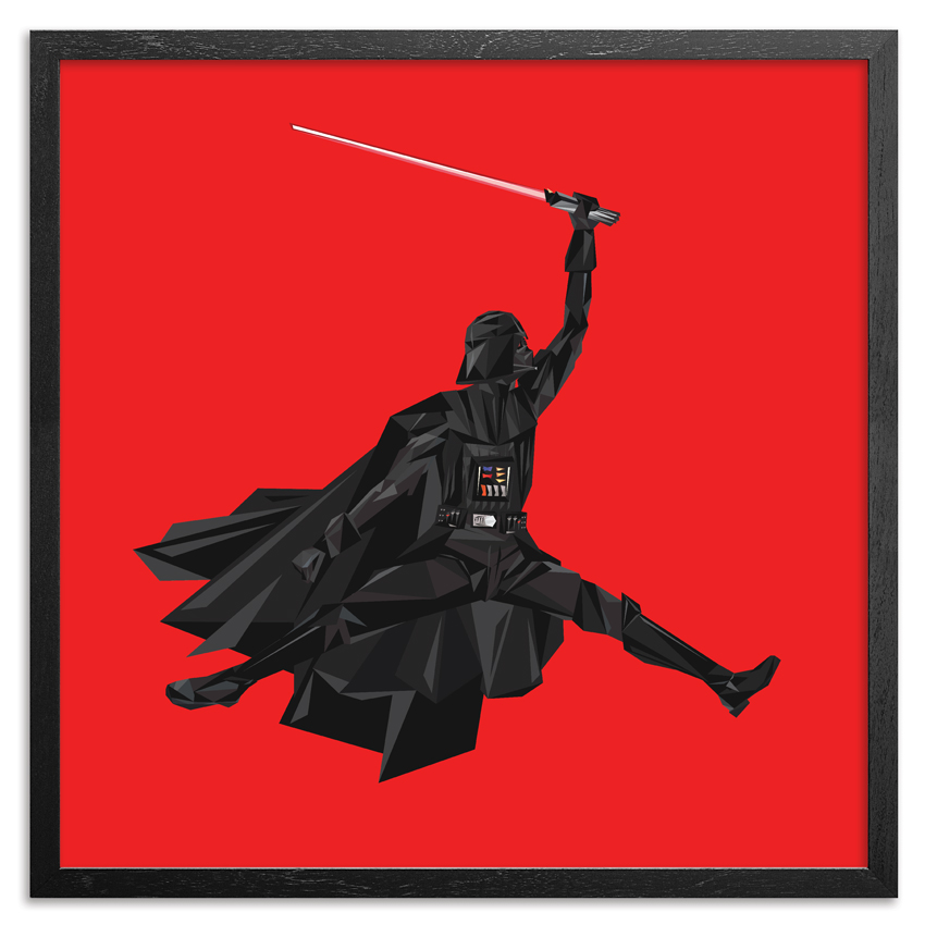 Naturel Art Print - Air Vader - 44 x 44 Inch Edition