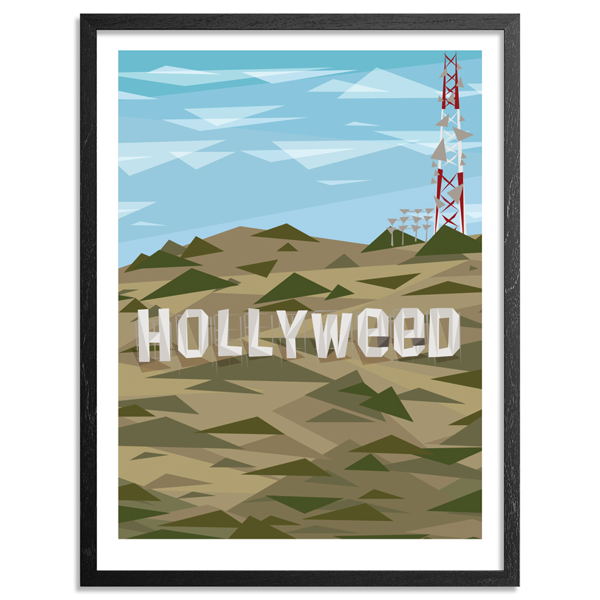 Naturel Art Print - Hollyweed - 18x24 Inch Edition