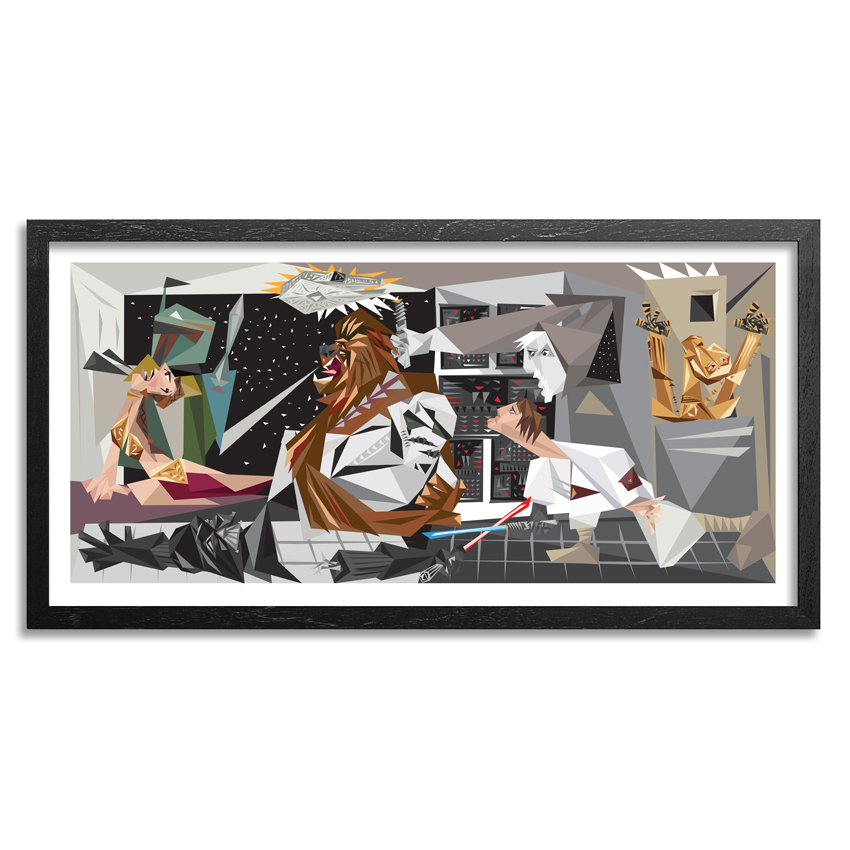 Naturel Art Print - The Force - 36 x 18 Edition