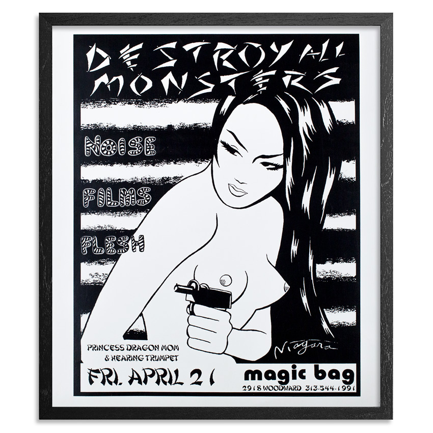 Niagara Art Print - Destroy All Monsters @ The Magic Bag
