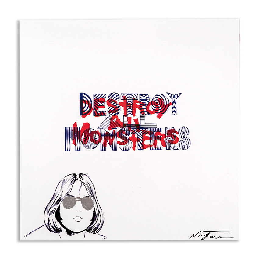 Niagara Art - Hand-Painted Destroy All Monsters Box Set - 01