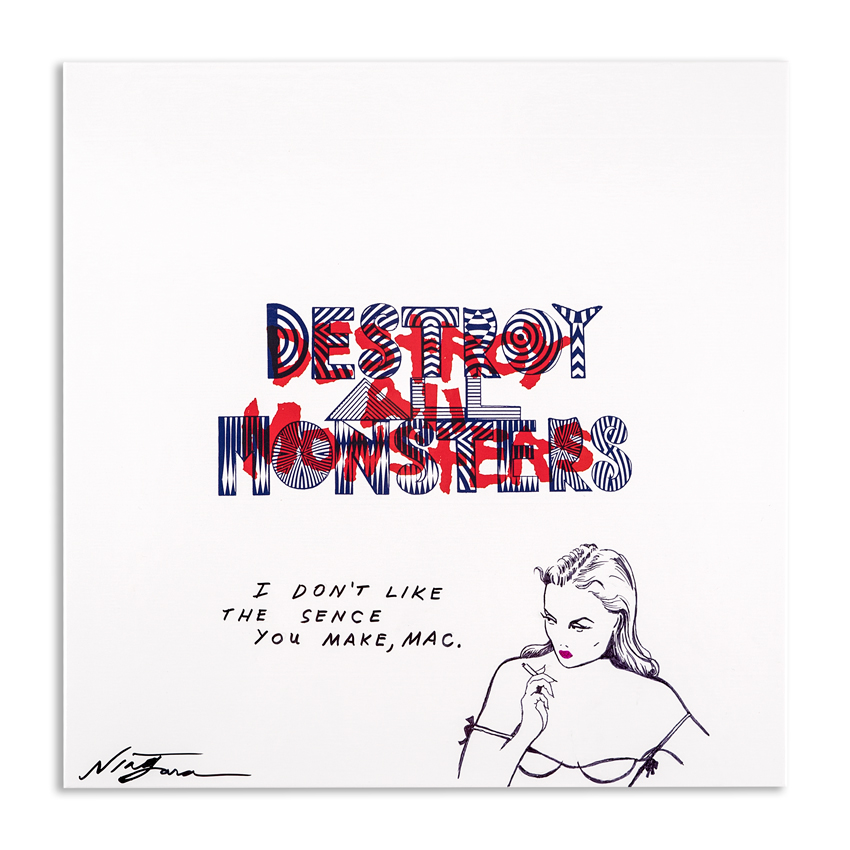Niagara Art - Hand-Painted Destroy All Monsters Box Set - 04