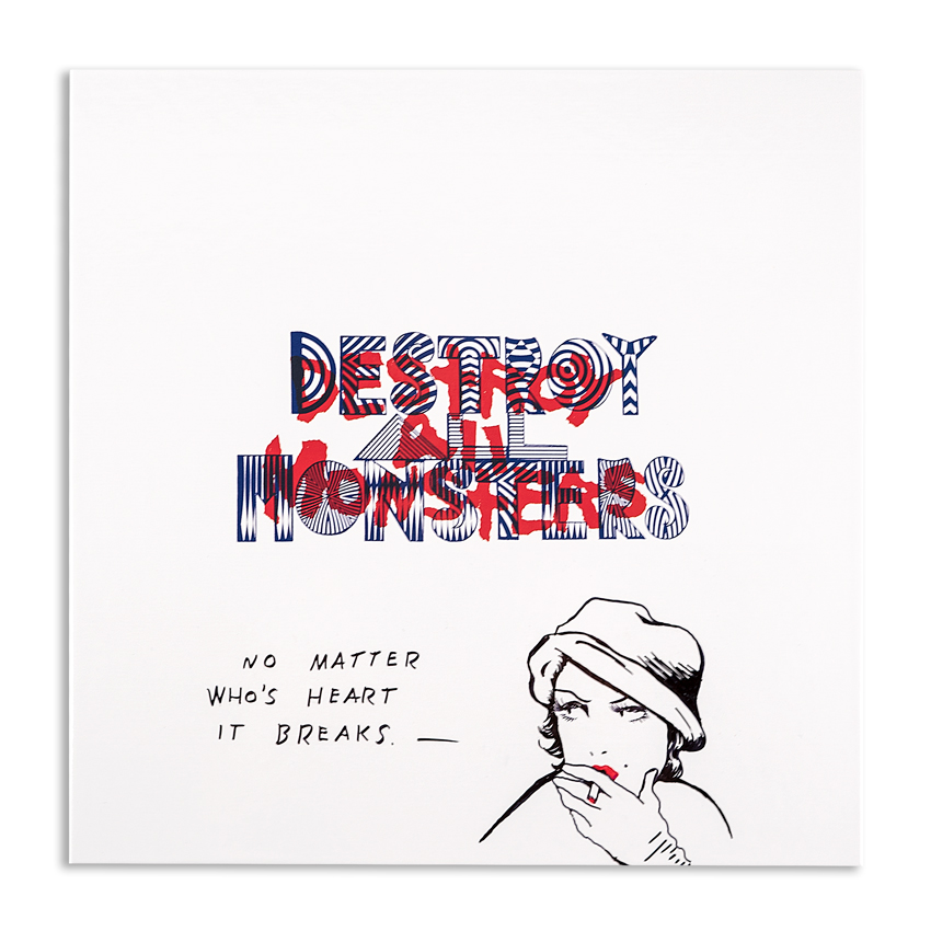 Niagara Art - Hand-Painted Destroy All Monsters Box Set - 07