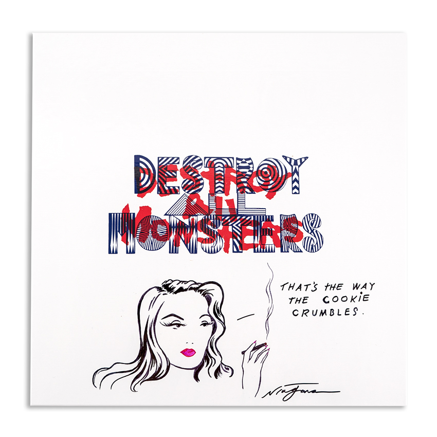 Niagara Art - Hand-Painted Destroy All Monsters Box Set - 08