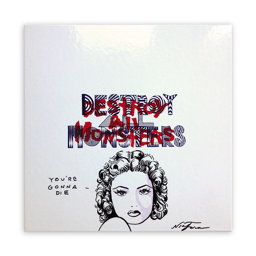 Niagara Art - Hand-Painted Destroy All Monsters Box Set - 09