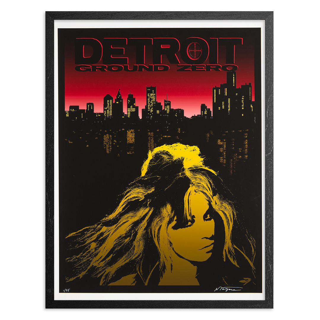 Niagara Art Print - Limited Edition Print - Detroit Ground Zero - Variant II