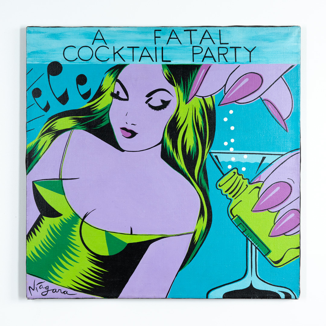 Niagara Original Art - Original Artwork - A Fatal Cocktail Party