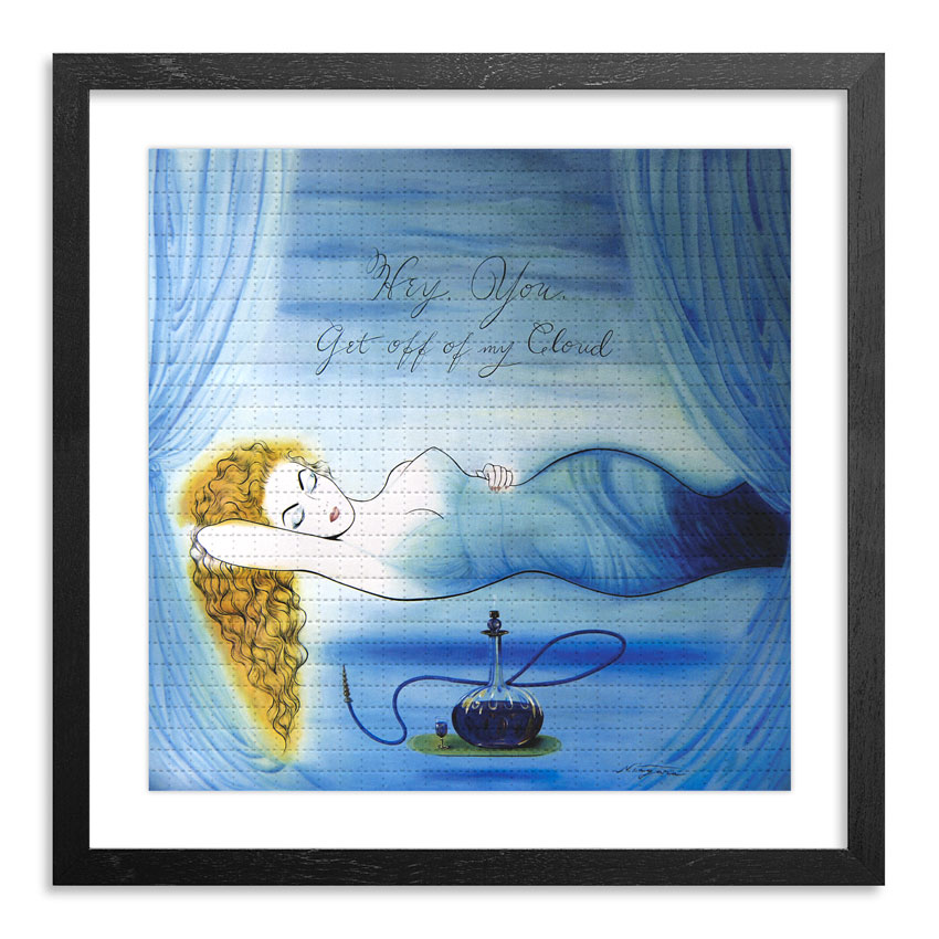 Niagara Art Print - Get Off My Cloud - Blotter Variant